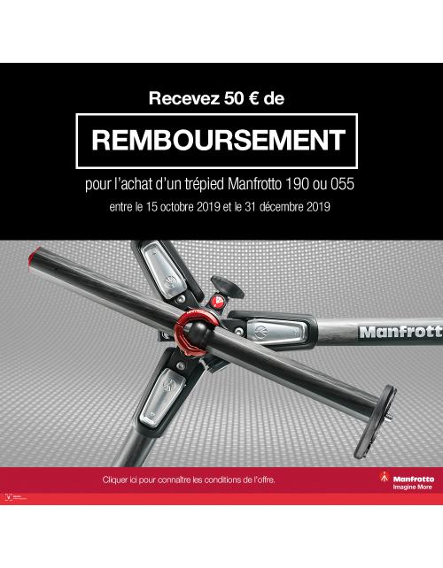 MANFROTTO OFFRE DE REMBOURSEMENT